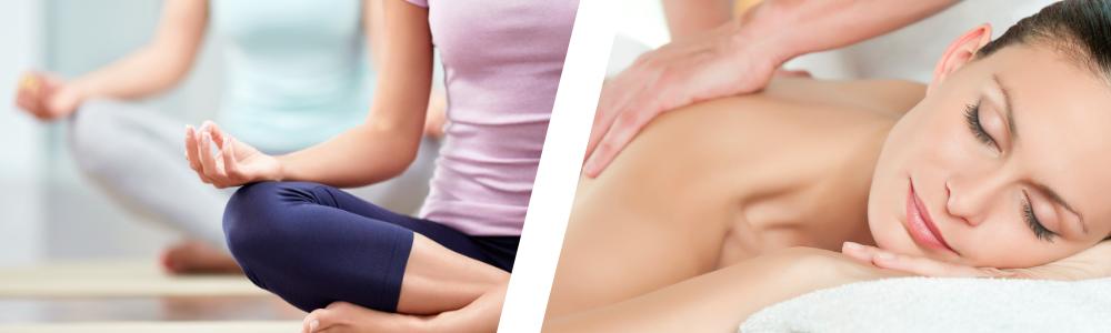 Header: Yoga + Massage